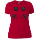 T-Shirts Red / X-Small Iron Smiley Women's XC Tee