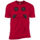 T-Shirts Red / X-Small Iron Smiley XC Tee