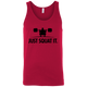 T-Shirts Red / X-Small Just Squat It. Tank Top