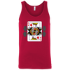 T-Shirts Red / X-Small King Of Squats Tank Top