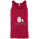T-Shirts Red / X-Small Poppin' Bottles Tank Top