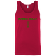 T-Shirts Red / X-Small Power Belly Tank Top