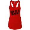 T-Shirts Red / X-Small Son Of A Bench!! Racerback Tank