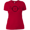 T-Shirts Red / X-Small Squat O'Clock Women's XC Tee