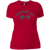 T-Shirts Red / X-Small Strong AF Women's XC Tee