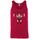 T-Shirts Red / X-Small Will Lift For Carbs (Donuts Man) Tank Top