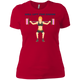 T-Shirts Red / X-Small Will Lift For Carbs (Donuts) Women's XC Tee