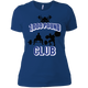 T-Shirts Royal Blue / X-Small 1,000 Pound Club Women's XC Tee