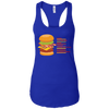 T-Shirts Royal Blue / X-Small Anatomy Of A Burger Racerback Tank
