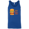 T-Shirts Royal Blue / X-Small Anatomy Of A Burger Tank Top