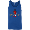T-Shirts Royal Blue / X-Small Beast Mode Tank Top