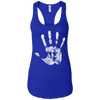 T-Shirts Royal Blue / X-Small Chalk Up! Racerback Tank