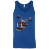 T-Shirts Royal Blue / X-Small Dead Man's Bench Tank Top