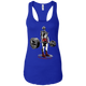T-Shirts Royal Blue / X-Small Dead Man's Lift Racerback Tank