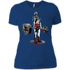 T-Shirts Royal Blue / X-Small Dead Man's Lift Women's XC Tee