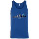 T-Shirts Royal Blue / X-Small Evolution (Colored) Tank Top
