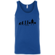 T-Shirts Royal Blue / X-Small Evolution Tank Top