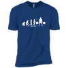 T-Shirts Royal Blue / X-Small Evolution XC Tee