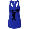 T-Shirts Royal Blue / X-Small Gorilla Press Racerback Tank