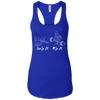 T-Shirts Royal Blue / X-Small Grip And Rip Racerback Tank
