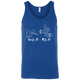 T-Shirts Royal Blue / X-Small Grip And Rip Tank Top