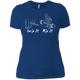 T-Shirts Royal Blue / X-Small Grip And Rip Women's XC Tee