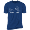 T-Shirts Royal Blue / X-Small Grip And Rip XC Tee