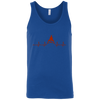 T-Shirts Royal Blue / X-Small Heartbeat Tank Top