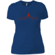 T-Shirts Royal Blue / X-Small Heartbeat Women's XC Tee