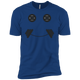 T-Shirts Royal Blue / X-Small Iron Smiley XC Tee