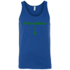 T-Shirts Royal Blue / X-Small Power Belly Tank Top