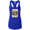 T-Shirts Royal Blue / X-Small Queen Of Squats Racerback Tank