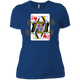 T-Shirts Royal Blue / X-Small Queen Of Squats Women's XC Tee