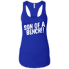 T-Shirts Royal Blue / X-Small Son Of A Bench!! Racerback Tank