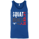 T-Shirts Royal Blue / X-Small Squat Bench Deadlift Tank Top