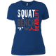 T-Shirts Royal Blue / X-Small Squat Bench Deadlift Women's XC Tee