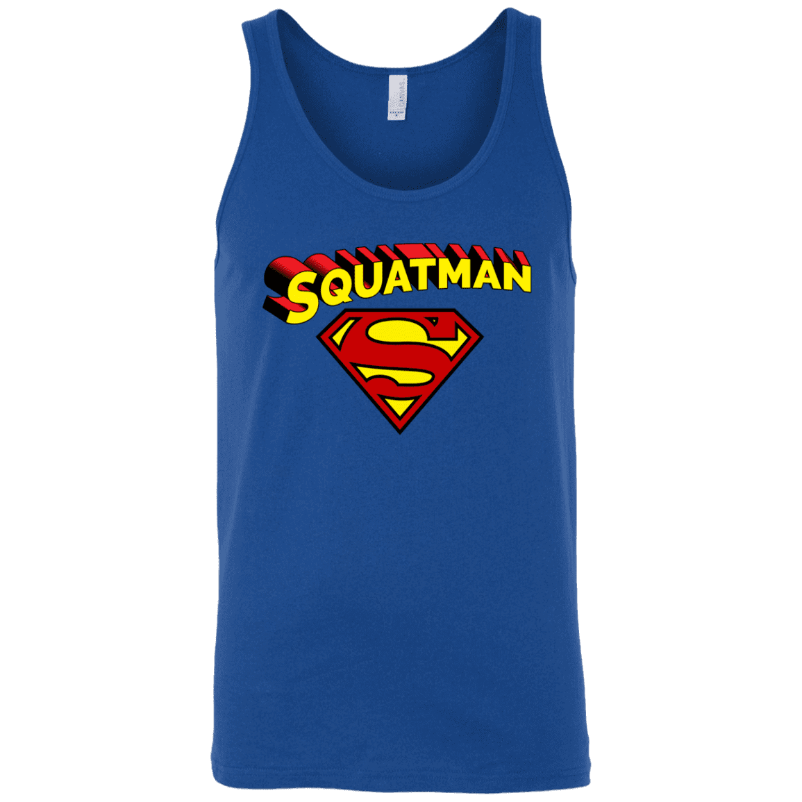 T-Shirts Royal Blue / X-Small Squatman Tank Top