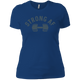 T-Shirts Royal Blue / X-Small Strong AF Women's XC Tee