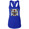 T-Shirts Royal / X-Small Big Three Women's Racerback Tank