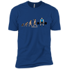 T-Shirts Royal / X-Small Evolution (Color) XC Tee