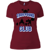 T-Shirts Scarlet / S 1,000 Pound Club Women's XC Tee
