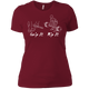 T-Shirts Scarlet / S Grip And Rip Women's XC Tee