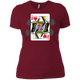T-Shirts Scarlet / S Queen Of Squats Women's XC Tee