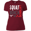 T-Shirts Scarlet / S Squat Bench Deadlift Women's XC Tee