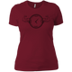 T-Shirts Scarlet / S Squat O'Clock Women's XC Tee