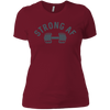 T-Shirts Scarlet / S Strong AF Women's XC Tee