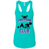 T-Shirts Tahiti Blue / X-Small 1,000 Pound Club Racerback Tank