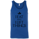 "T-Shirts True Royal / X-Small ""I Eat And I Lift Things"" Tank Top"