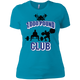 T-Shirts Turquoise / X-Small 1,000 Pound Club Women's XC Tee