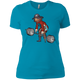 T-Shirts Turquoise / X-Small Captain HookGrip Women's XC Tee